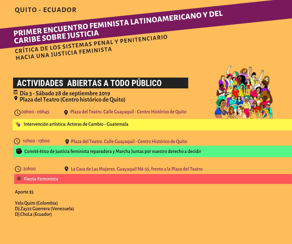 Mesa pública_ Repensar la justicia en y desde los feminismos latinoamericanos y del Caribe, hoy (5)